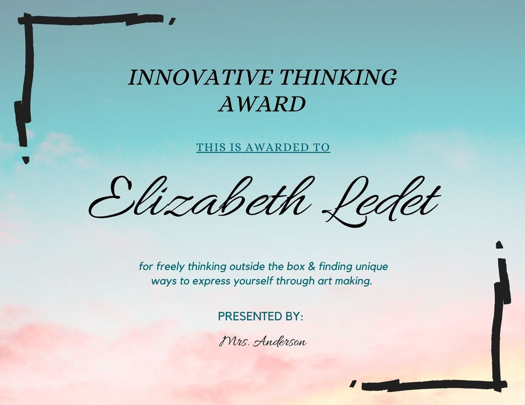 Elizabeth Ledet Innovative Thinking